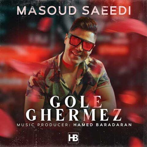 آهنگ مسعود سعیدی گل قرمز | چقدر چشات میتونه زیبا باشه